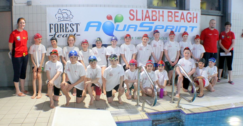Aquasprint team 2017 SLIABH BEAGH